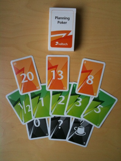 Planning Poker Deck