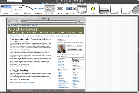 Wireframe with balsamiq: quick, easy and collaborative