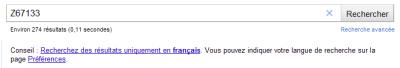 "Recherche Google : Un conseil ""masquable"""
