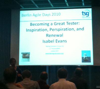Isabel Evans Keynote