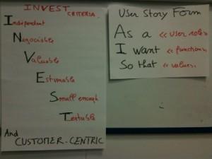 User Story INVESTed... dans un format orienté But Utilisateur tourné vers la valeur
