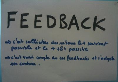 Feedback: une valeur trés agile !