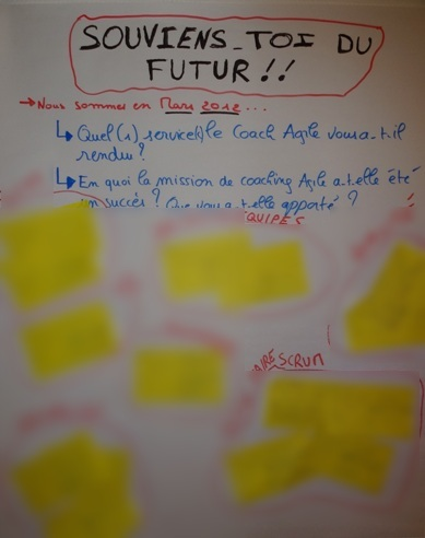 Remembrer the Future: un Innovation Game plus qu'intéressant!