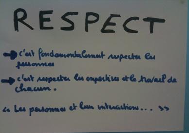 Respect: une valeur agile
