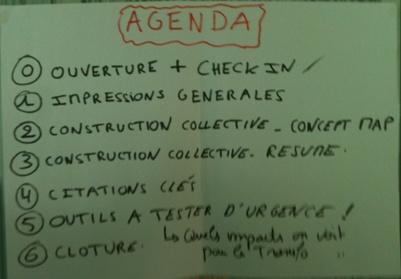 Agenda du Book Club