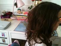 Des cheveux en pagaille