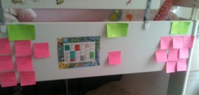 Un taskboard tout ce qu'il y a de plus classique... Hors IT :)
