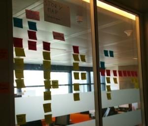 Résultat d'un Atelier StoryMap avec un Product Owner motivé