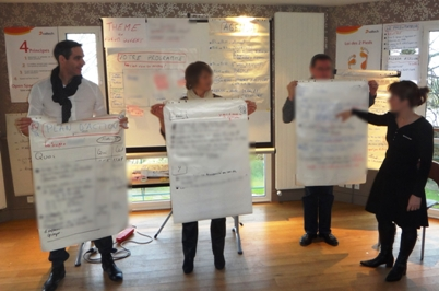Open Space technology debrief