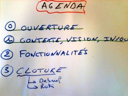 Agenda Meeting Hacking