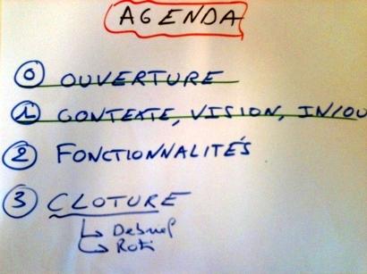 Agenda Meeting Hacking