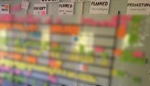 Roadmap Agile board