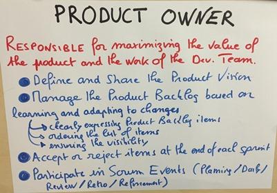 ProductOwner ROle Generique