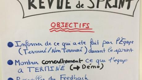 Revue de sprint  Objectifs