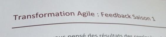 Transfo Agile