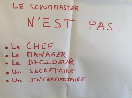 ScrumMaster OUT