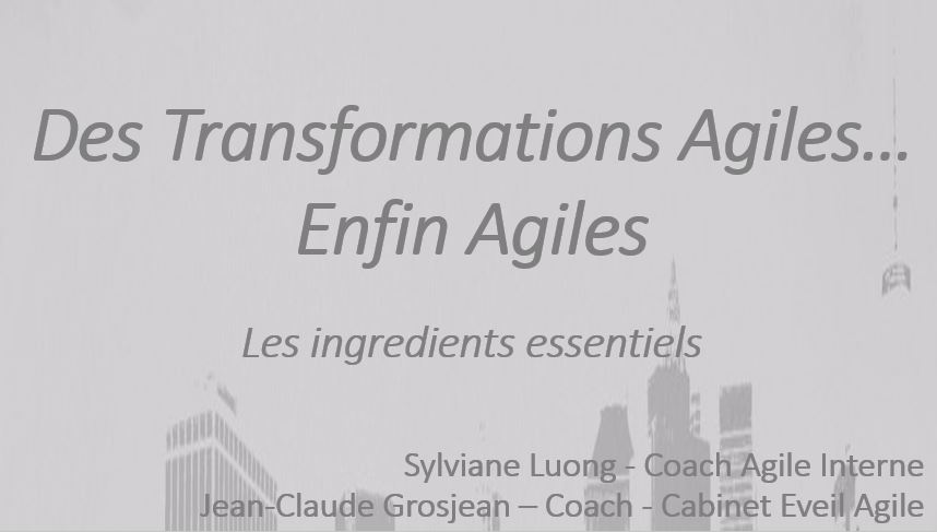 transformation agile enfin agile