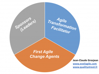Leader transformation agile