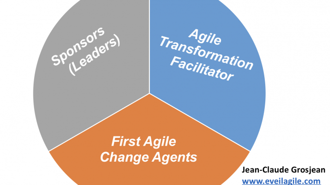 Leader transformation agile