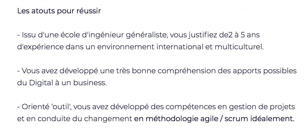 Responsable transformation agile