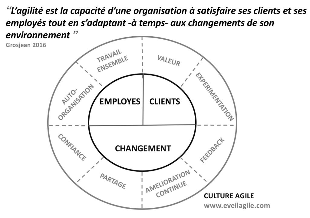 culture agile et agilité