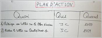 Plan D Action Faites Simple Mais Efficace